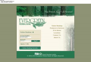 Evergreen Federal Bank
